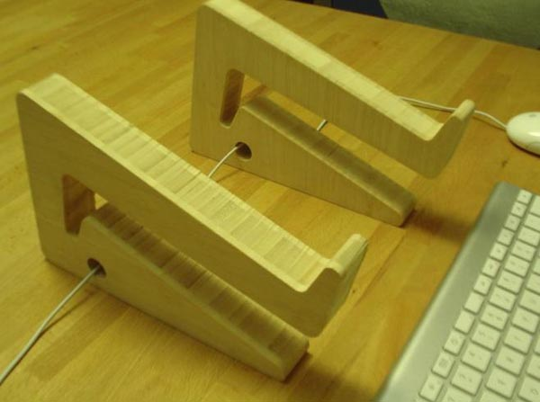 Puzzle Bamboo Ecofriendly Wooden Laptop Stand  Gadgetsin