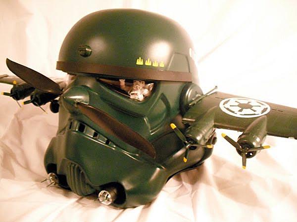 Airborne Stormtrooper Helmet Gadgetsin