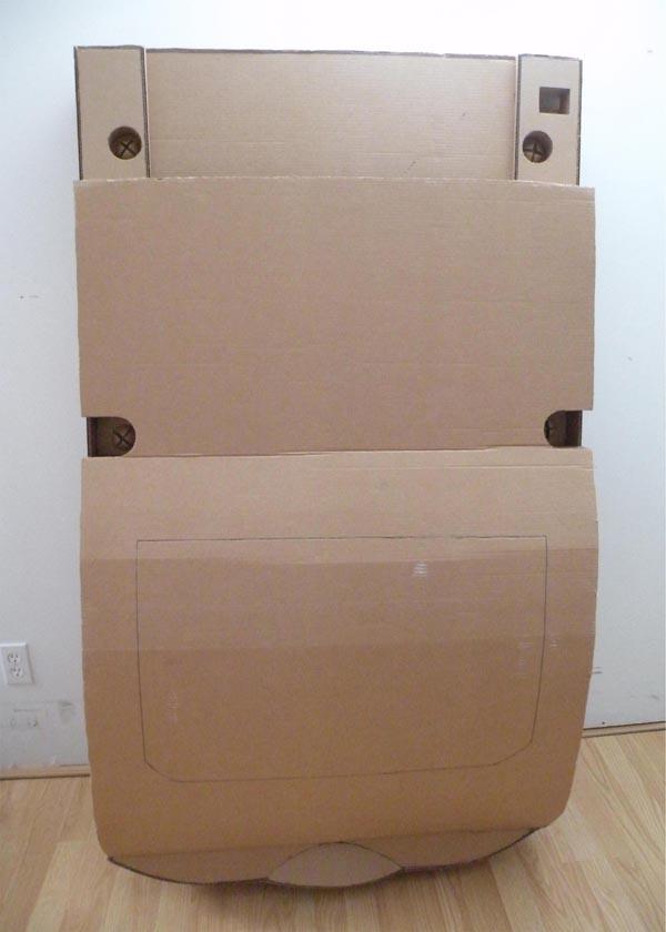 Giant Cardboard Nintendo Gameboy Gadgetsin