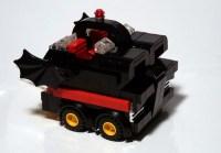 LEGO Batmobile Driven by CubeDude Batman |Gadgetsin