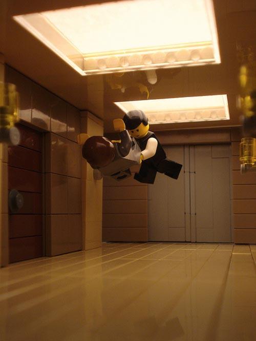 LEGO Version Inception Movie Scenes  Gadgetsin