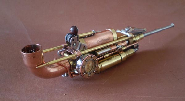 Steampunk Works by Ivan Mavrovic  Gadgetsin