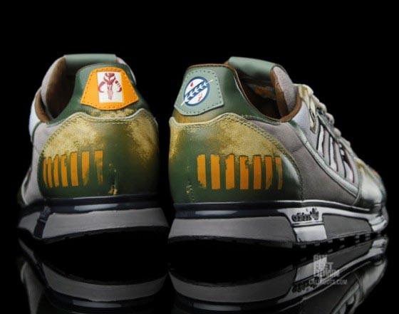 Adidas Star Wars Boba Fett ZX 800 Running Shoes  Gadgetsin