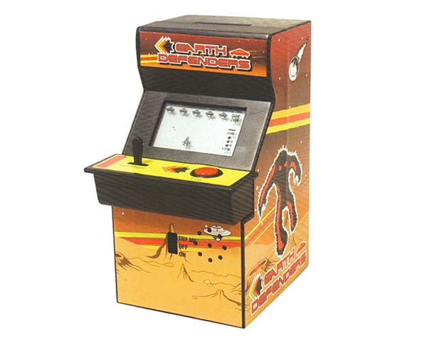 arcade machine piggy bank