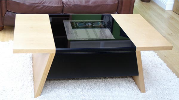 Surface Tension Arcade Game Coffee Table  Gadgetsin