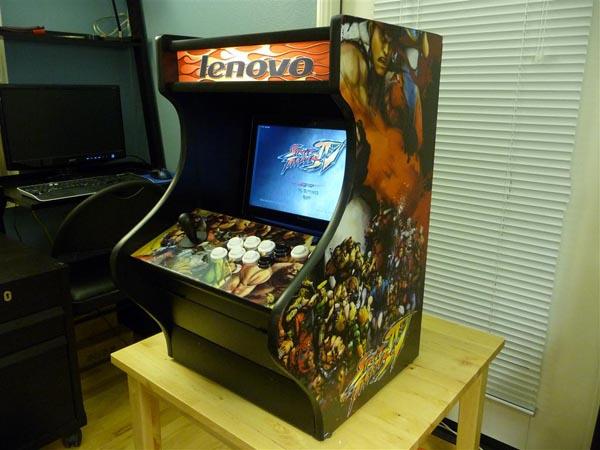 ArcadeDock Turns Lenovo Laptop into Arcade Machine  Gadgetsin