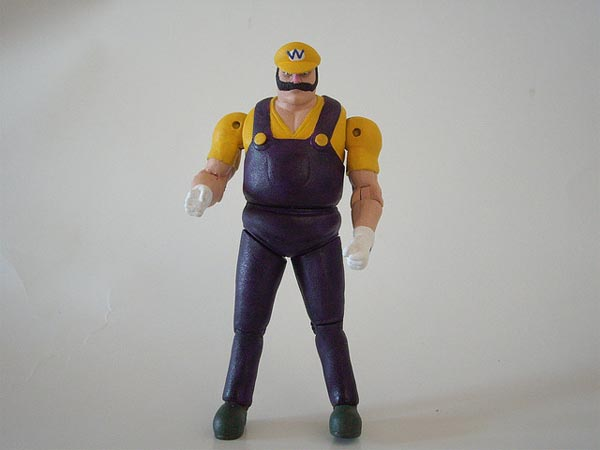 Custom Wario Action Figure Strong Enough Gadgetsin