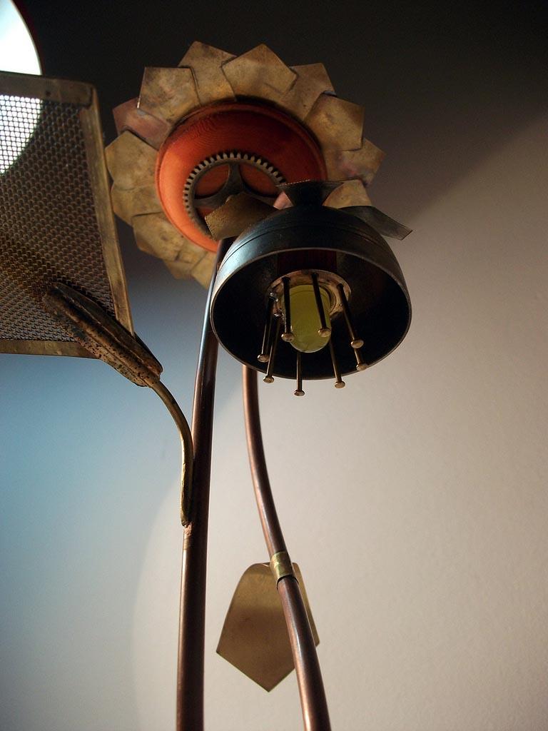 Steampunk Solar Garden Lamp  Gadgetsin