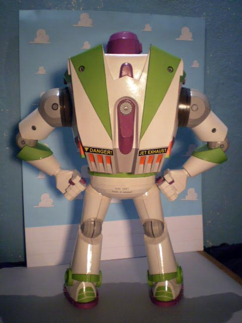 Toy Story Buzz Lightyear Paper Craft Gadgetsin