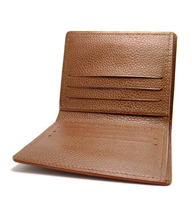 Hand Stitched Personalized Leather Wallet Gadgetsin