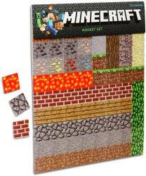minecraft magnet magnets fridge official thinkgeek sheets gift block sheet gadgetsin refrigerator amazon blocks party magnetic build licensed games player