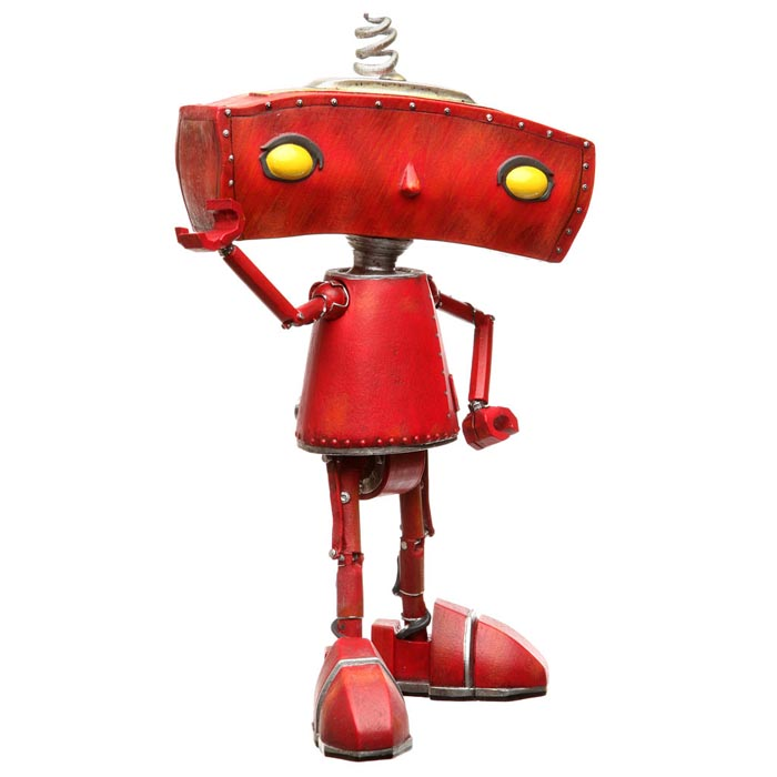 Limited Edition Bad Robot Collectible Figure Gadgetsin