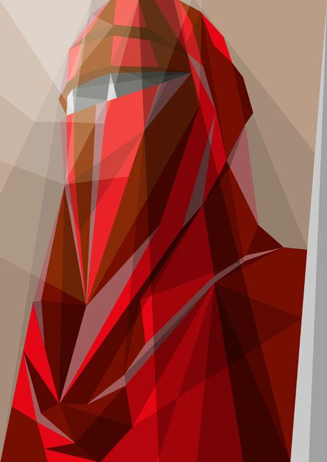Wallpaper Geometric Hd Star Wars Stroke Abstract Art Gadgetsin