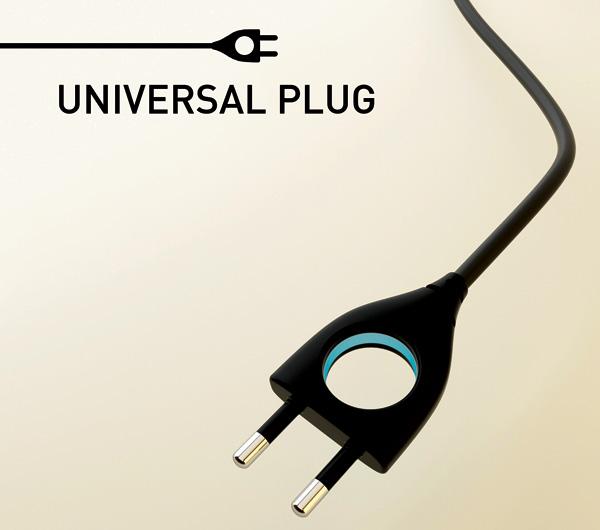TRON Styled Universal Plug  Gadgetsin