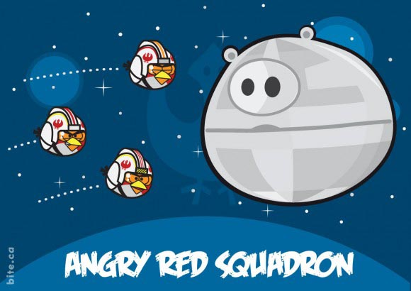 Star Characters All Birds Wars Angry