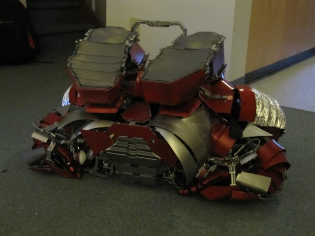 Iron Man Mark V Armor Suit with the Capability of