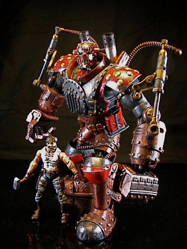 Steampunk Iron Man Action Figure