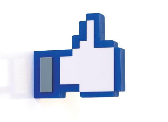 Facebook Like Button Styled Hanger  Gadgetsin