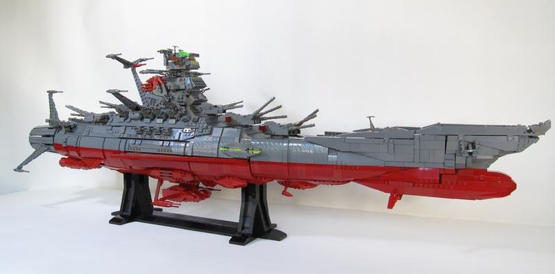 Space Battleship Yamato LEGO Version  Gadgetsin