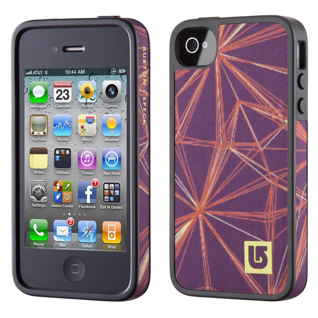 Speck Fabshell Burton Iphone 4 4s Case Gadgetsin
