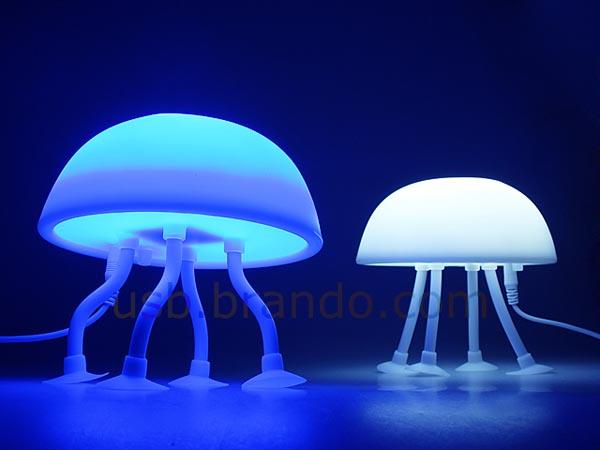 Jellyfish USB Lamp  Gadgetsin