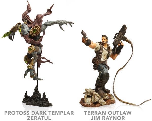 Deluxe StarCraft 2 Figures  Gadgetsin