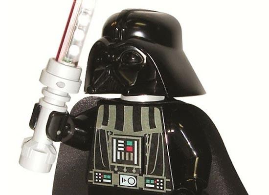 LEGO Star Wars Darth Vader Minifigure Desk Lamp  Gadgetsin