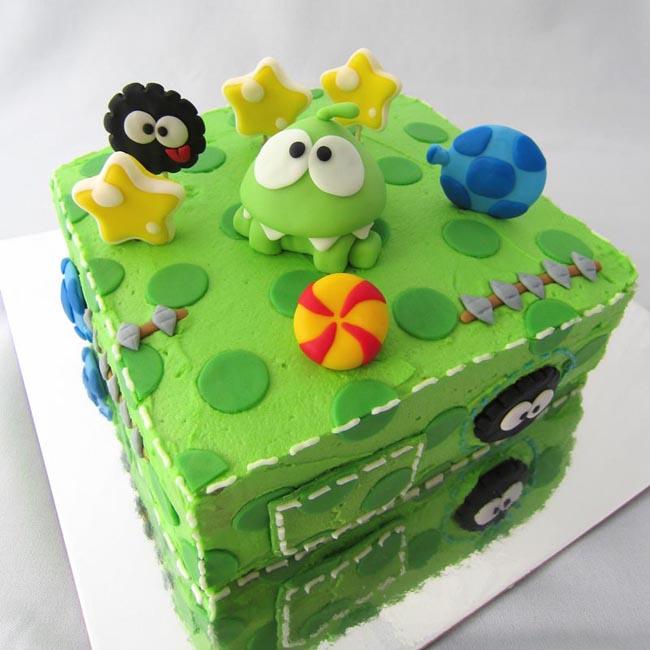 Yummy Cut The Rope Birthday Cake Gadgetsin
