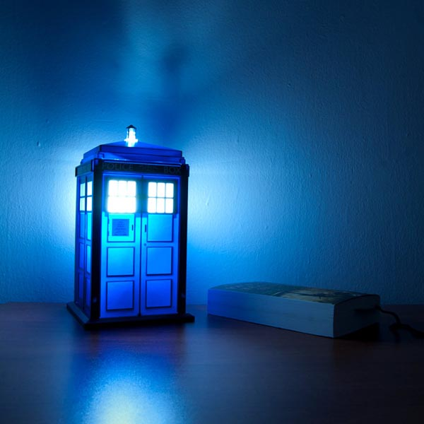 Doctor Who TARDIS Night Light  Gadgetsin