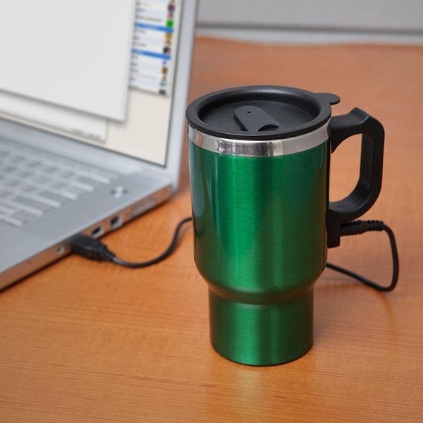 The Dual Heated Travel Mug  Gadgetsin