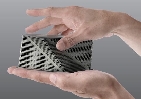 Viva Concept Dock Speaker Inspired by Origami  Gadgetsin