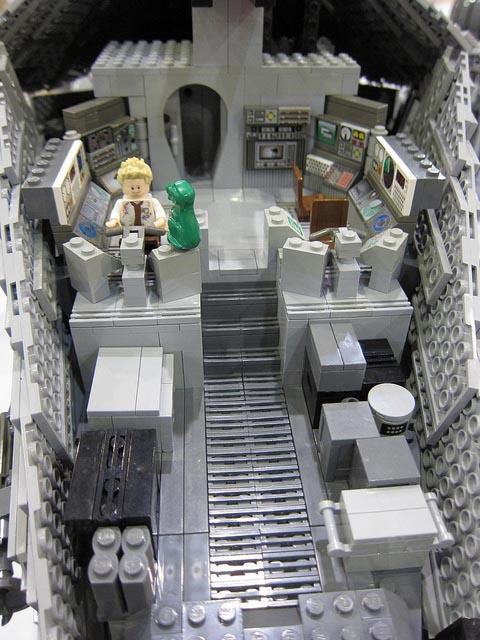 Awesome 7Foot LEGO Serenity Model  Gadgetsin
