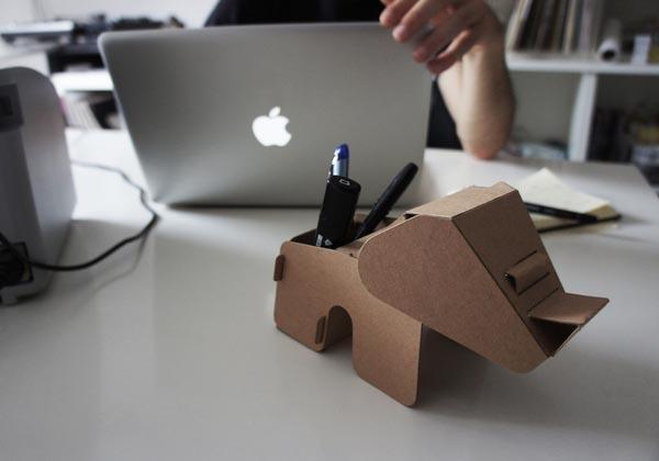 DIY Eco Animal Shaped Cardboard Gadgets  Gadgetsin