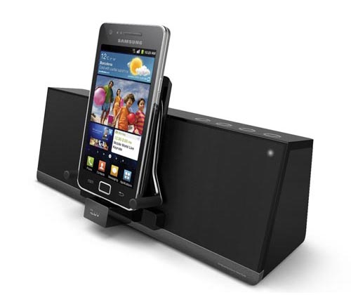 Stereo Iluv Mobiair Speaker Dock Bluetooth