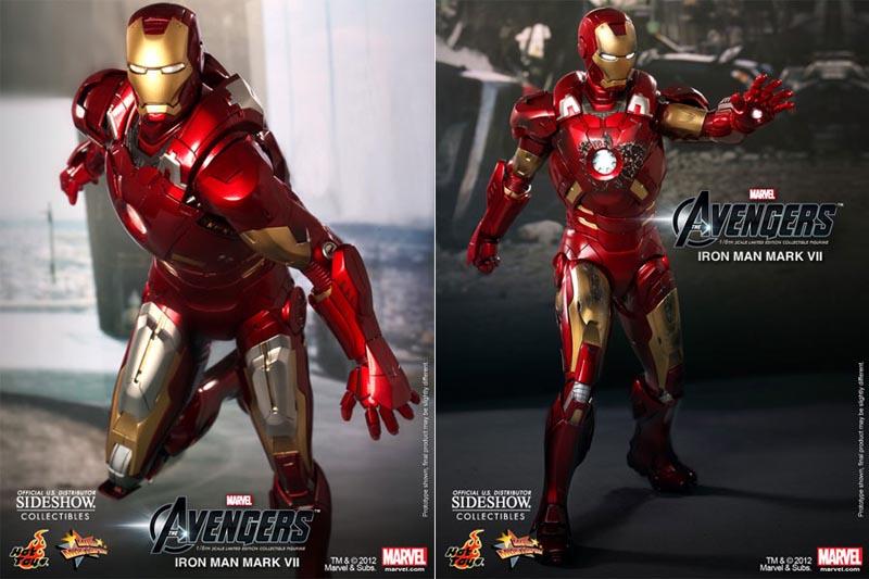 Iron Man Mark VII Collectible Action Figure  Gadgetsin