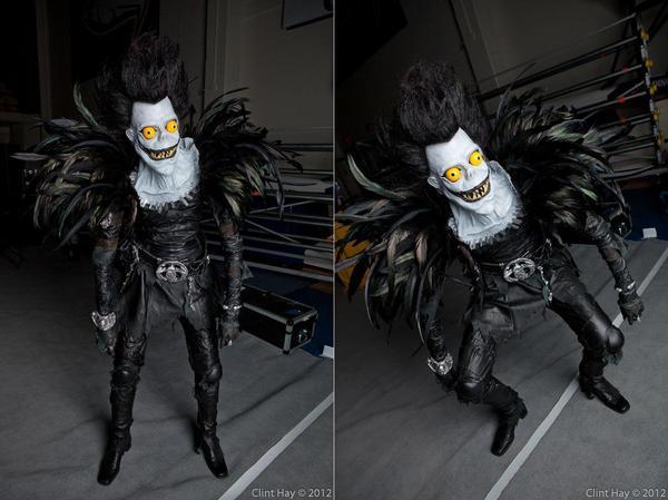 Homemade Death Note Ryuk Costume  Gadgetsin