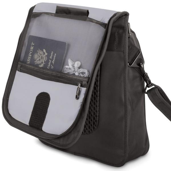 Thief Thwarting Messenger Bag  Gadgetsin