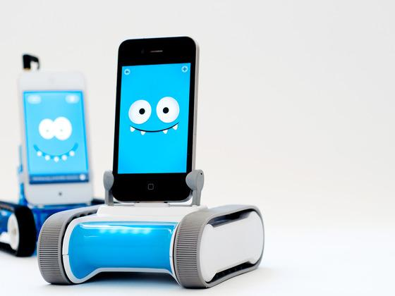 Romo Remote Control Robot Controlled by iOS Devices