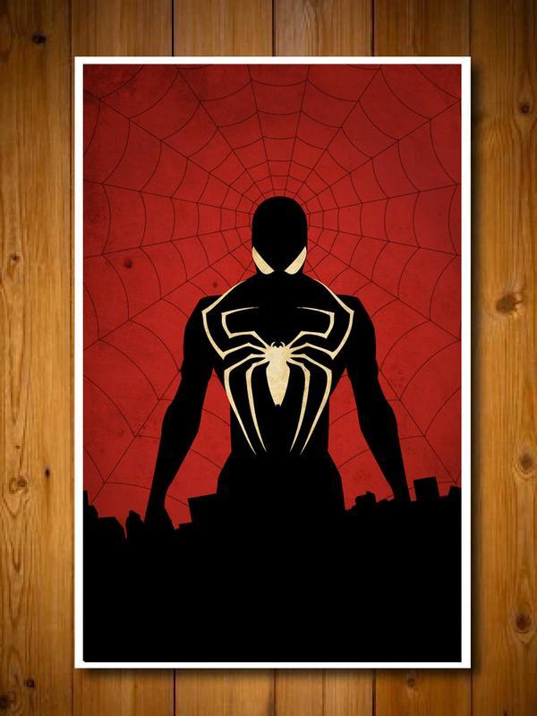 Superhero Inspired Poster Set  Gadgetsin