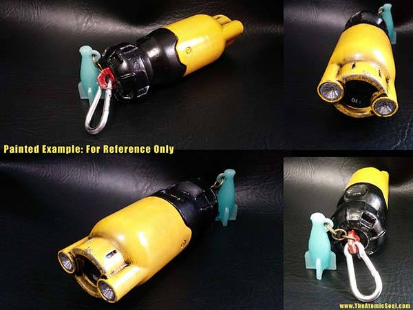The Fallout 4 3D Printed Fusion Core Power Bank Not Only