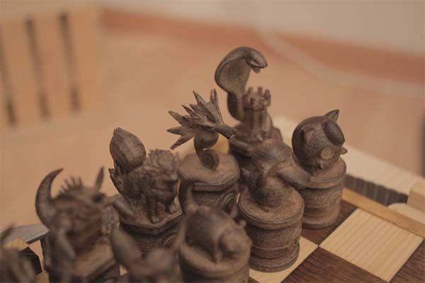 Build Your Own 3d Printed Pokemon Chess Set Gadgetsin