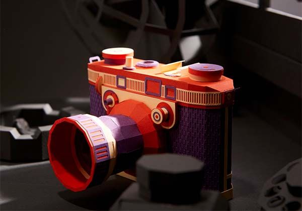 Awesome Vintage Camera Papercrafts by Lee Jihee  Gadgetsin