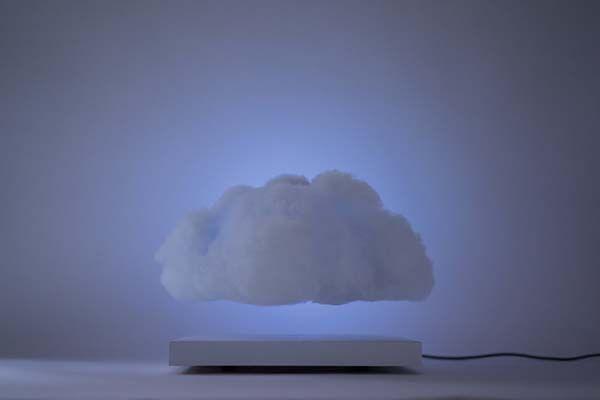 Floating Cloud Levitating Ambient LED Lamp Gadgetsin
