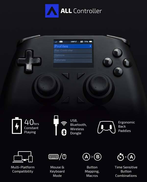 The ALL Customizable And Universal Game Controller Gadgetsin