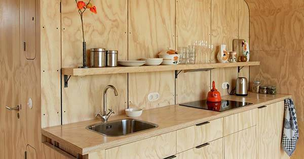 kitchen timer island with drawers wikkelhouse modular house made of cardboard | gadgetsin