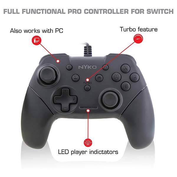 Nyko Core Game Controller Twin Pack For Nintendo Switch And PC Gadgetsin