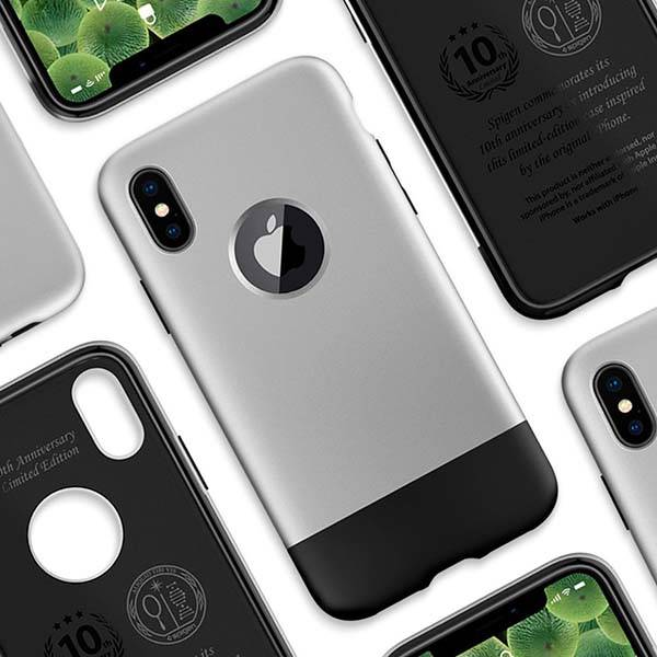 Spigen Classic One iPhone X Case Inspired by iPhone 2G