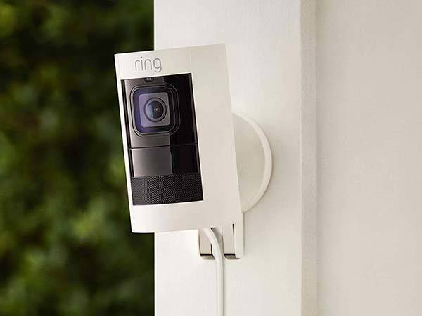 All New Ring Stick Up Cam Wired HD Security Camera Gadgetsin