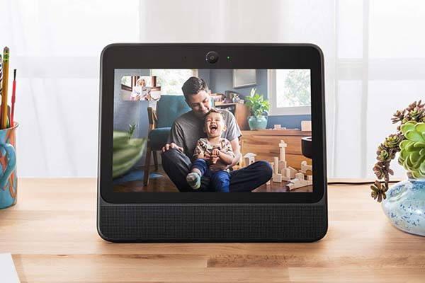Facebook Portal Smart Home Device with Alexa Builtin