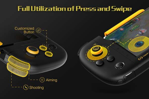 Flydigi Wasp One Hand IPhone Gamepad Compatible With